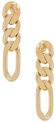 joolz by Martha Calvo Figaro Chain Earrings