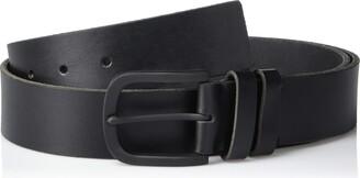 Frye Men's Double Keeper Leather Belt