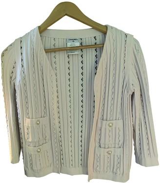 Chanel Beige Cotton Jackets