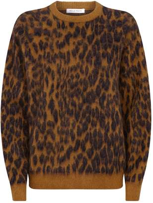 Bella Freud Leopard Print Sweater