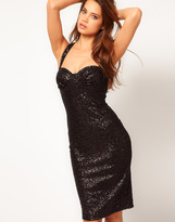 Asos Sexy Bodycon Dress In Sequin