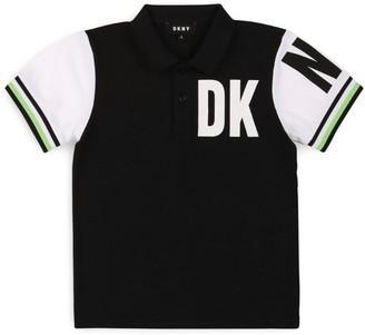 DKNY Logo Polo Shirt (6-16 Years)