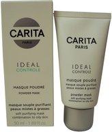 Carita Ideal Controle Powder Mask Combination to Oily Skin - 50ml-1.69oz