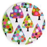 French Bull Dot Tree Cookie Platter