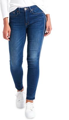 Vineyard Vines Jamie High Rise Corded Cropped Indigo Jeans