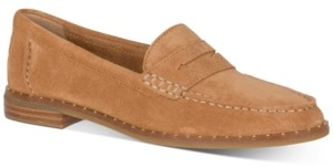 Sperry Women's Seaport Stud-Trim Penny Loafers Women's Shoes