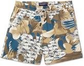 Etro Mid-Length Printed Swim Shorts
