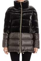Montecore Women's Green Viscose Outerwear Jacket.
