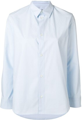 A.P.C. Long-Sleeve Fitted Shirt