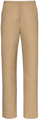Totême Alaior slim-leg wool trousers