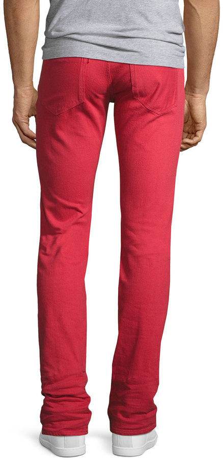 3x1 M5 Over-Dyed Low-Rise Slim-Fit Jeans