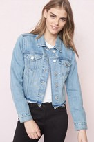 Garage Real Blue Frayed Denim Jacket