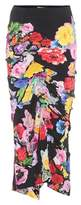 Preen by Thornton Bregazzi Jessica floral-printed skirt