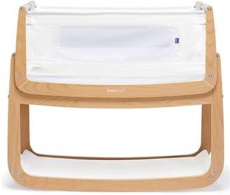 SnuzPod 4 Bedside Crib with Mattress - Natural
