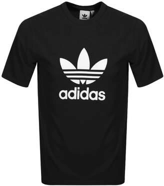 adidas Trefoil T Shirt Black
