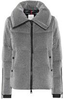 Moncler Bandama metallic down jacket