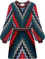 Gucci Geometric Knitted Mini Dress
