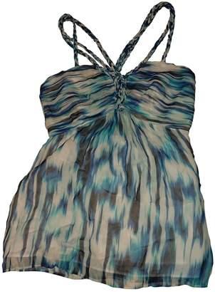 Coast Blue Silk Top for Women