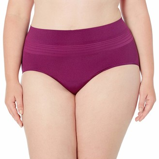 Warner's Warners Women's Plus Size No Pinching No Problems Brief Panty