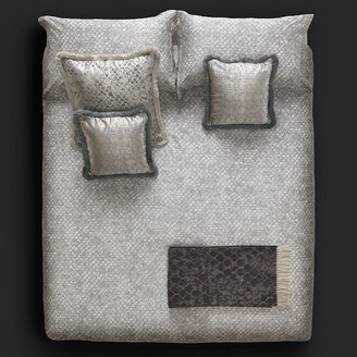 Roberto Cavalli Limited Edition Flakes Bed Sheet Set - Super King
