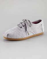 Toms Fabric Lace-Up Shoe