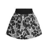 Simonetta SimonettaBlack & White Flower Skirt
