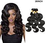 Adealink Fashion Body Wave Bundles Lace Closure Hair Human Hair Bundles Remy Weave Hair Accessories