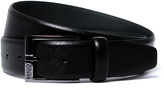 Hugo Ellotyon Black Leather Belt