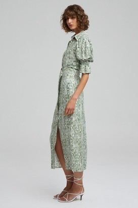 C/Meo EARLY ON DRESS ivy woodgrain
