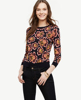Ann Taylor Rose Garden Sweater