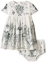 Dolce & Gabbana Botanical Garden Garden Print Dress (Infant)