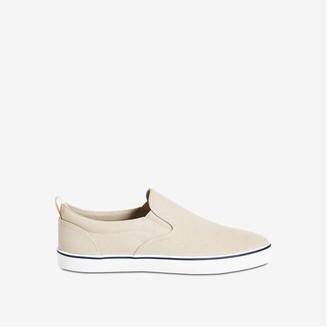 Joe Fresh Men's Slip-On Shoes, Beige (Size 8)