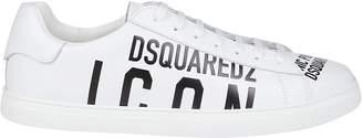 DSQUARED2 Icon Logo Low Top Sneakers