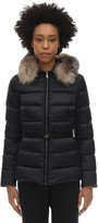 Moncler TATI DOWN JACKET W/ FOX FUR COLLAR
