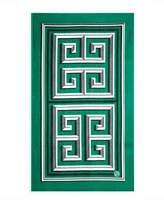 Jonathan Adler Greek Key Beach Towel, Green