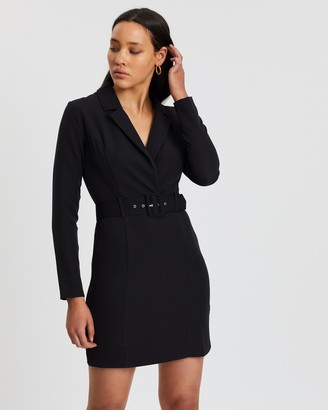 Miss Selfridge Tuxedo Wrap Dress