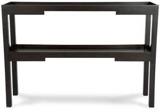 OKA Kyoto Narrow Console Table, Wood