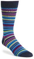 Bugatchi Men's Multicolor Stripe Socks