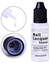 BORN PRETTY Nail Art Polish Thinner Extended Lacquer Varnish Thinner Liquid for Manicure Gelish 0.67oz