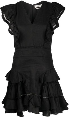 Etoile Isabel Marant Audrey ruffled mini dress