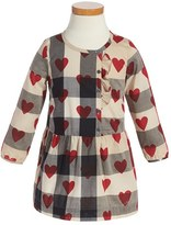 Burberry Toddler Girl's 'Mini Alaya' Check & Heart Print Dress