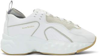 Acne Studios White Rockaway Sneakers