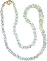 Irene Neuwirth 79.57 Carat Opal Beaded Necklace - Yellow Gold