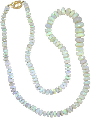 Irene Neuwirth 79.57 Carat Opal Beaded Necklace - Yellow Gold
