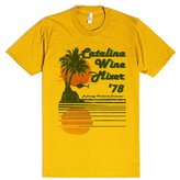 Skreened CATALINA WINE MIXER | XL T-Shirt | Funny Stepbrothers Movies Shirts