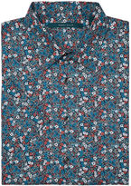 Perry Ellis Short Sleeve Bold Floral Print Shirt