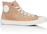 Chloé Kyle High Top Sneaker Suede Kidskin