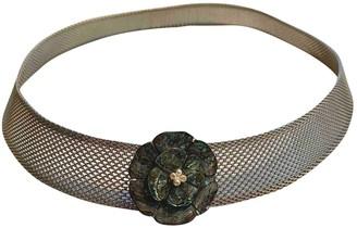 Chanel Silver Metal Belts