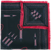 Valentino Garavani Love Blade scarf