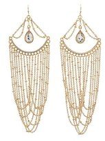 Charlotte Russe Embellished Chandelier Earrings
